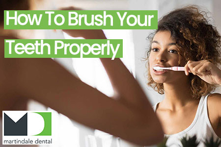 how to brush your teeth properly featured image