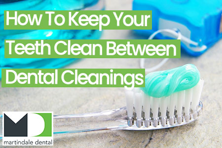 how to keep your teeth clean between dental cleanings featured image